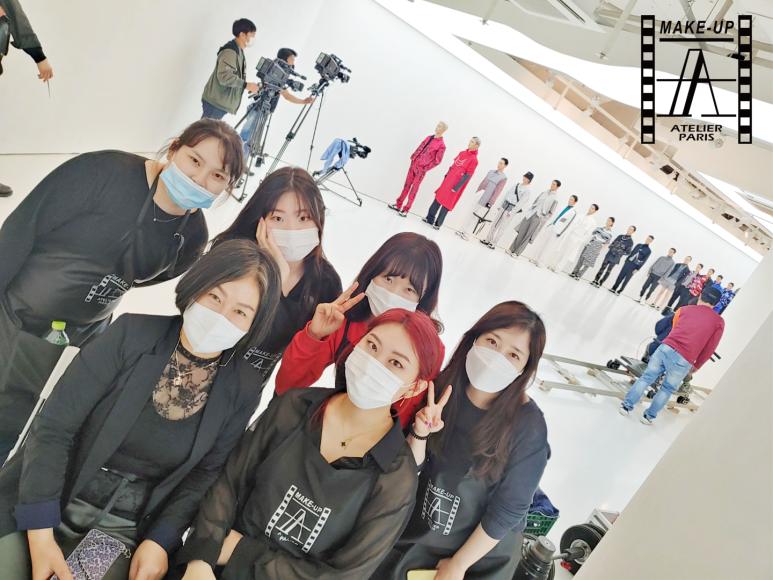 서울패션위크 '바이 디 바이' 메이크업 현장실습